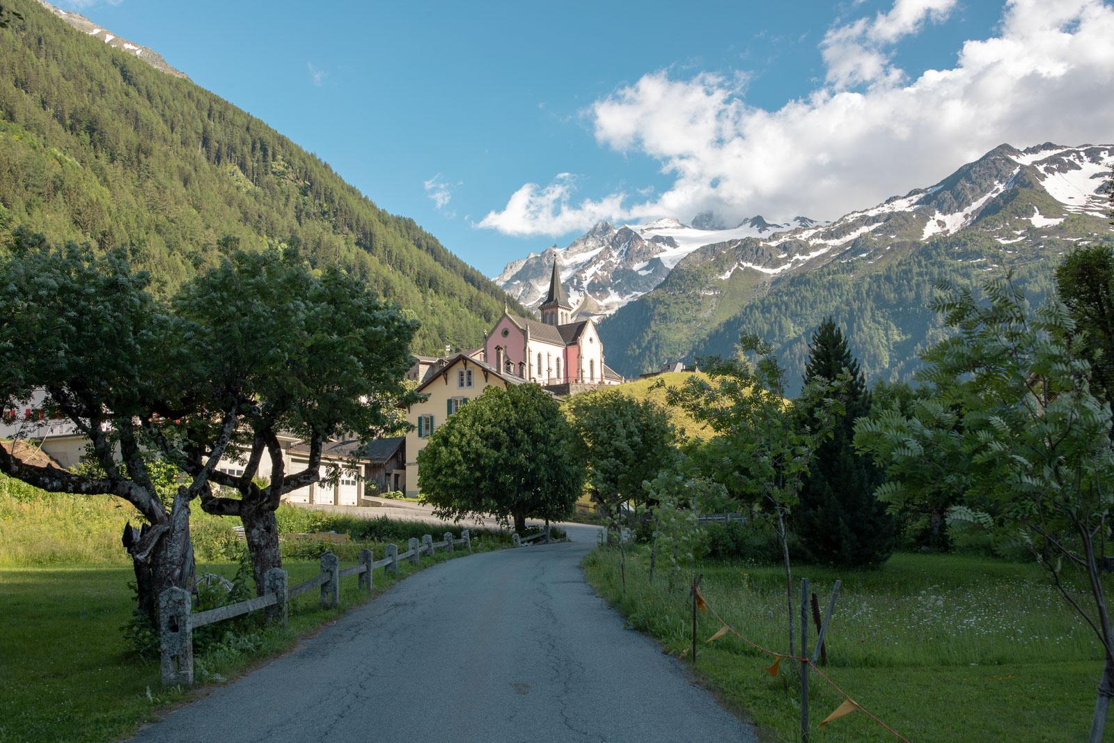 Bjergby Alperne