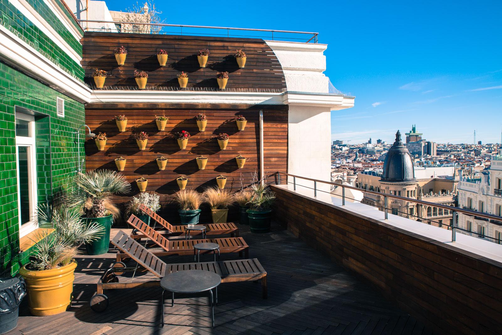 Hotel Madrid rejseblog