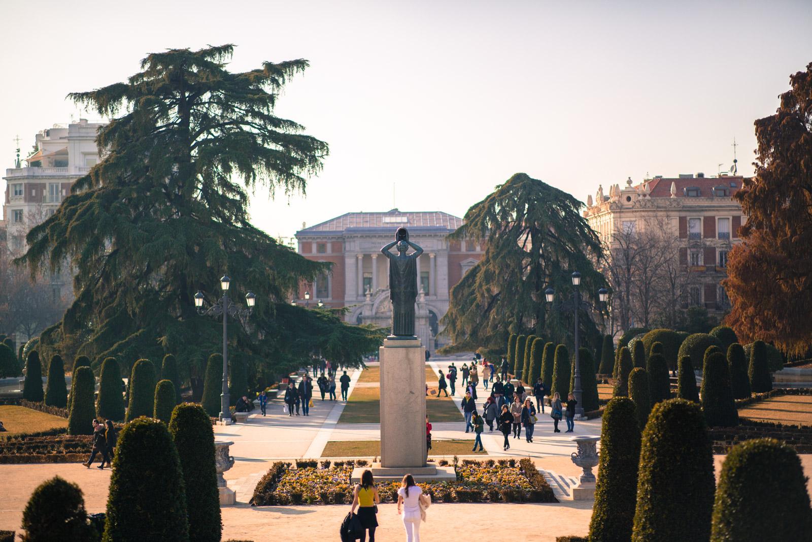 Madrid Parque del Retiro