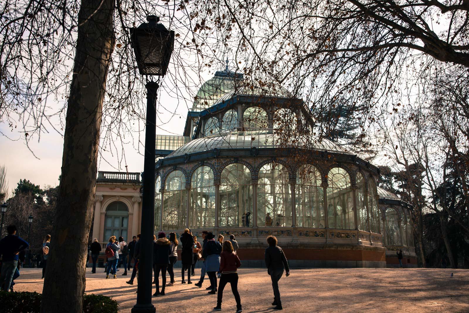 Glasslottet i parken