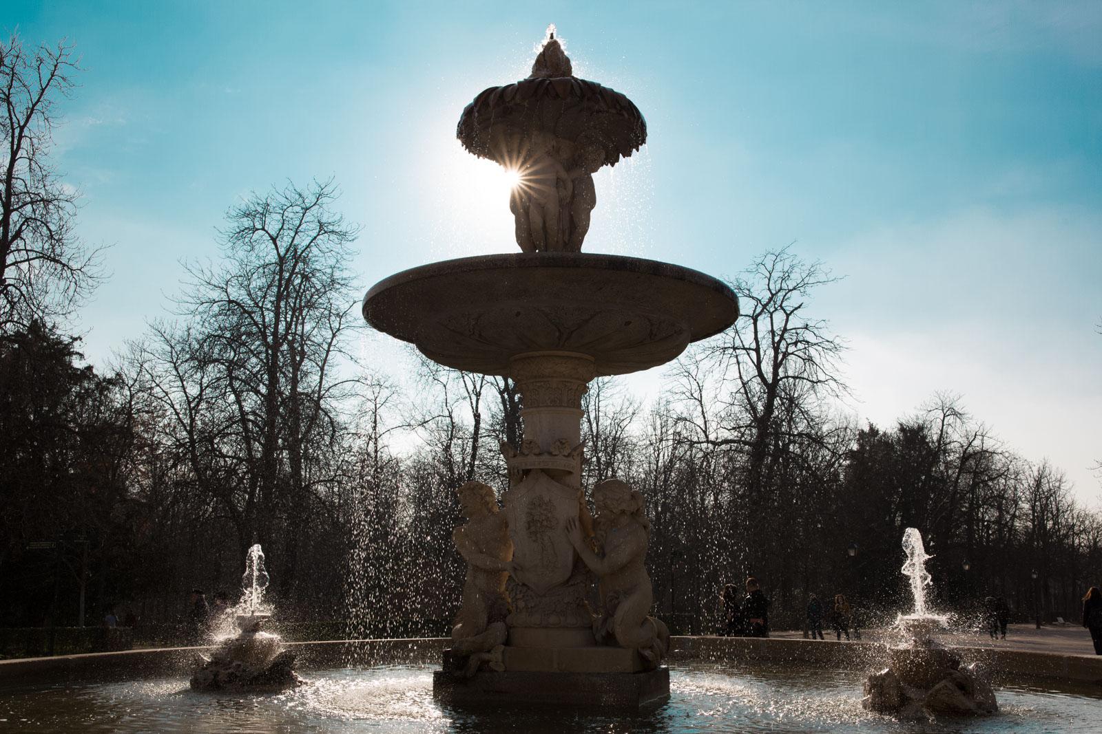 Madrid parken