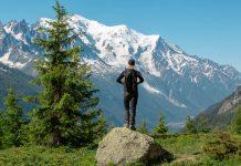 Vandrerute Tour du Mont Blanc