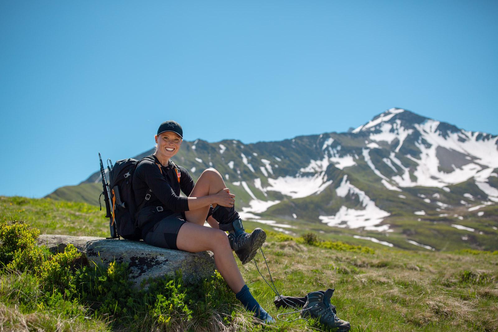 Vandrerute Mont Blanc