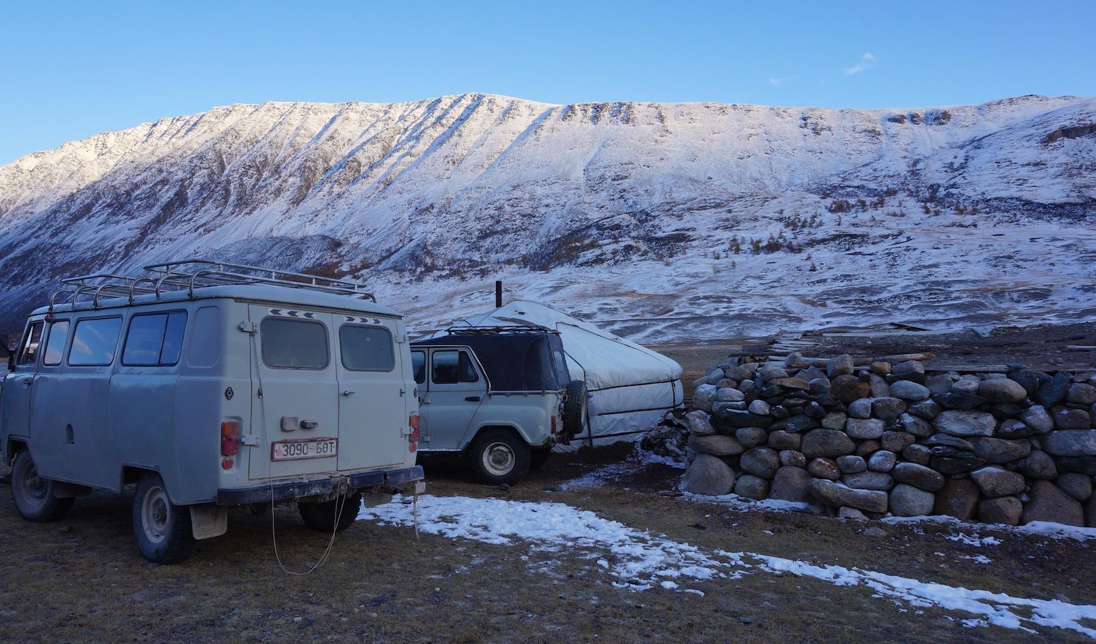 Rejse Mongoliet