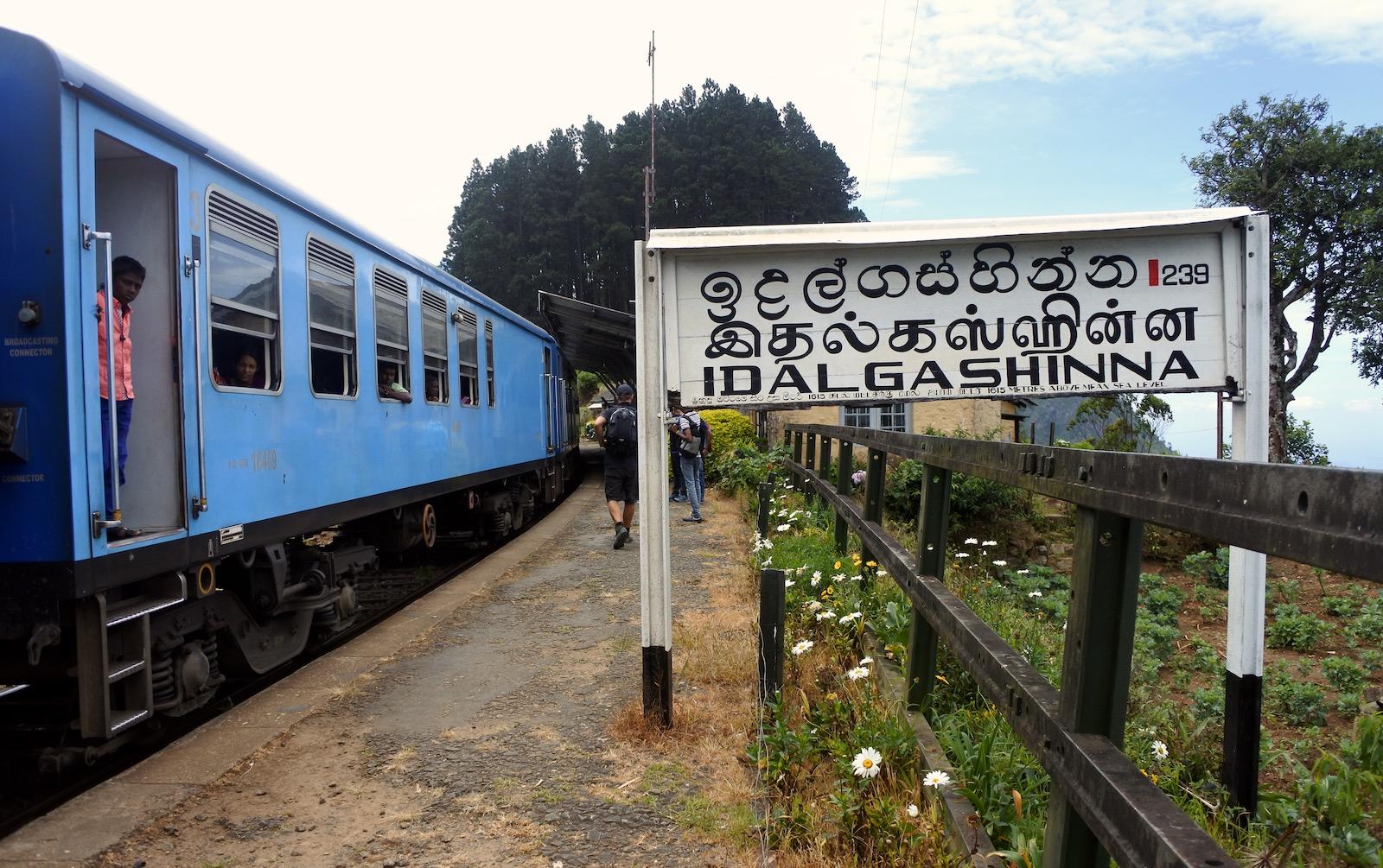 Sri Lanka togrejse