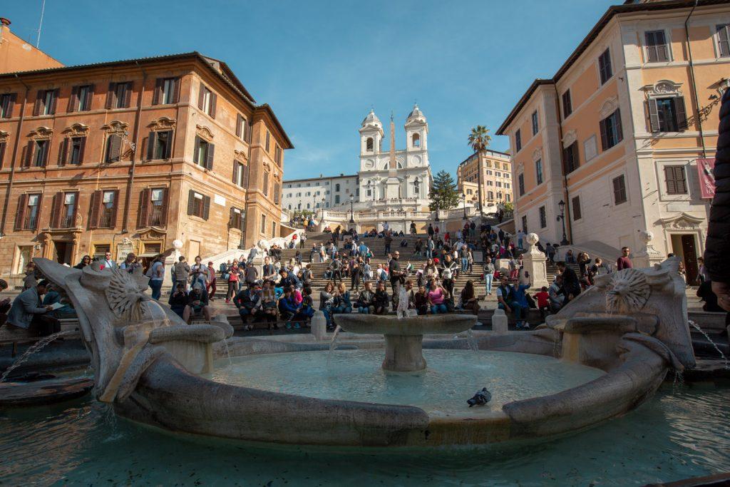 Spanske trappe i Rom