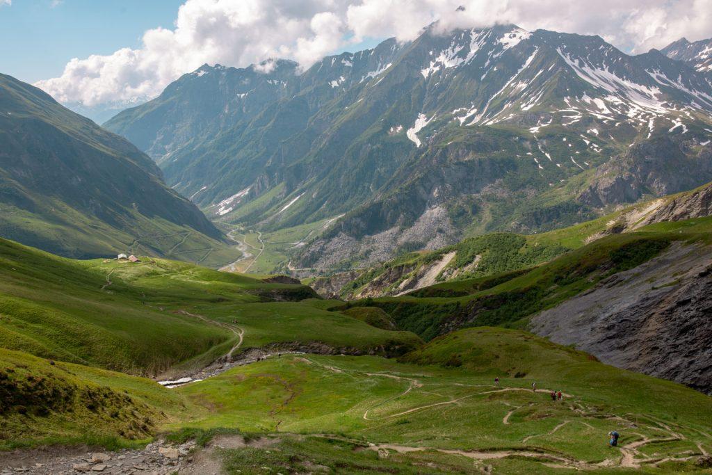 Vandrestier rundt om Mont Blanc