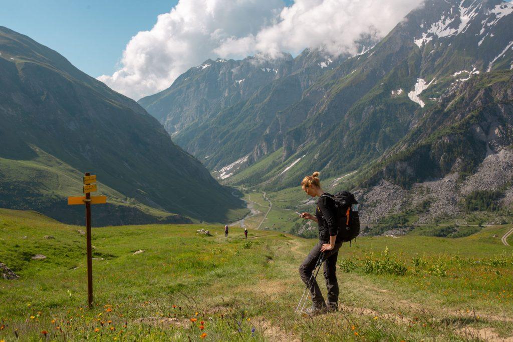 Vandretur rundt om Mont Blanc